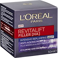 L'Oréal Paris Revitalift Filler [+Ha] Replumping Night Cream 50ml