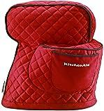 KitchenAid KSMCTISF Cobertor ajustado para batidora de pie, Empire Red, 2.54cm (1''), 1
