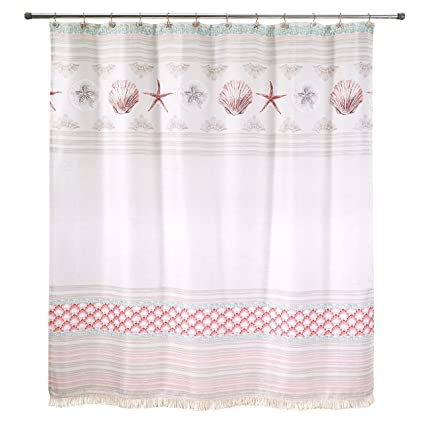 Image Unavailable Not Available For Color Avanti Linens Coastal Shower Curtains Multicolor