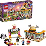 LEGO 41349 Friends Heartlake Drifting Diner Playset, Andrea and Dottie mini dolls, Retro Dinner and Movie Screen, Fun Play Toys for Kids