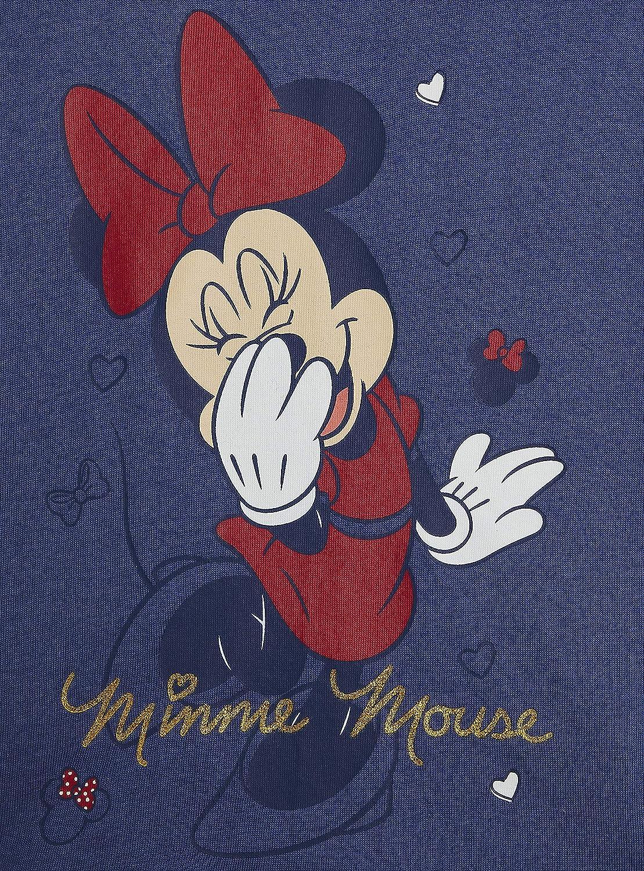 Completo Estivo 100/% Cotone con Maglietta Minnie Mouse E Unicorno Idea Regalo Compleanno 12 Mesi-8 Anni Set Pigiami Estivi Bimba Disney Topolina Pigiama Bambina Corto