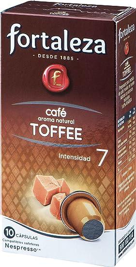 Café FORTALEZA - Cápsulas de Café con Aroma Toffee Compatibles con ...