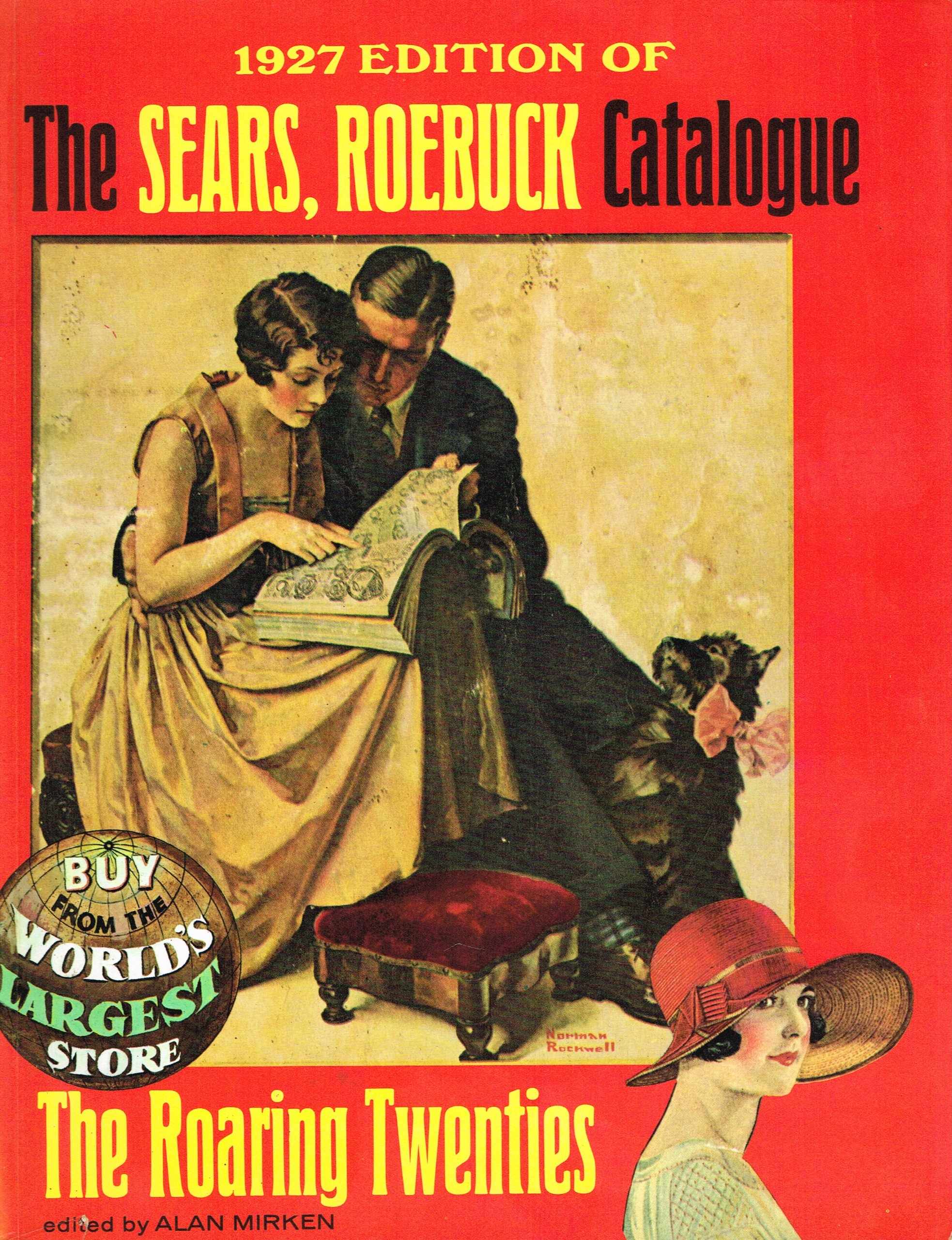 f4b718d937 1927 Edition of the Sears Roebuck Catalogue  roebuck sears  Amazon ...