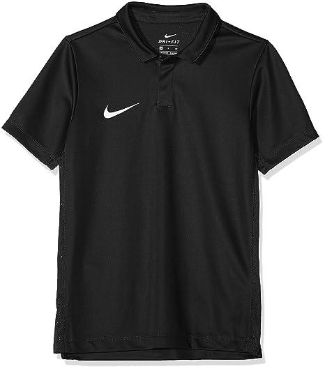 Nike Kids Dry Academy18 Football Polo Shirt, Unisex niños, Black/Anthracite/