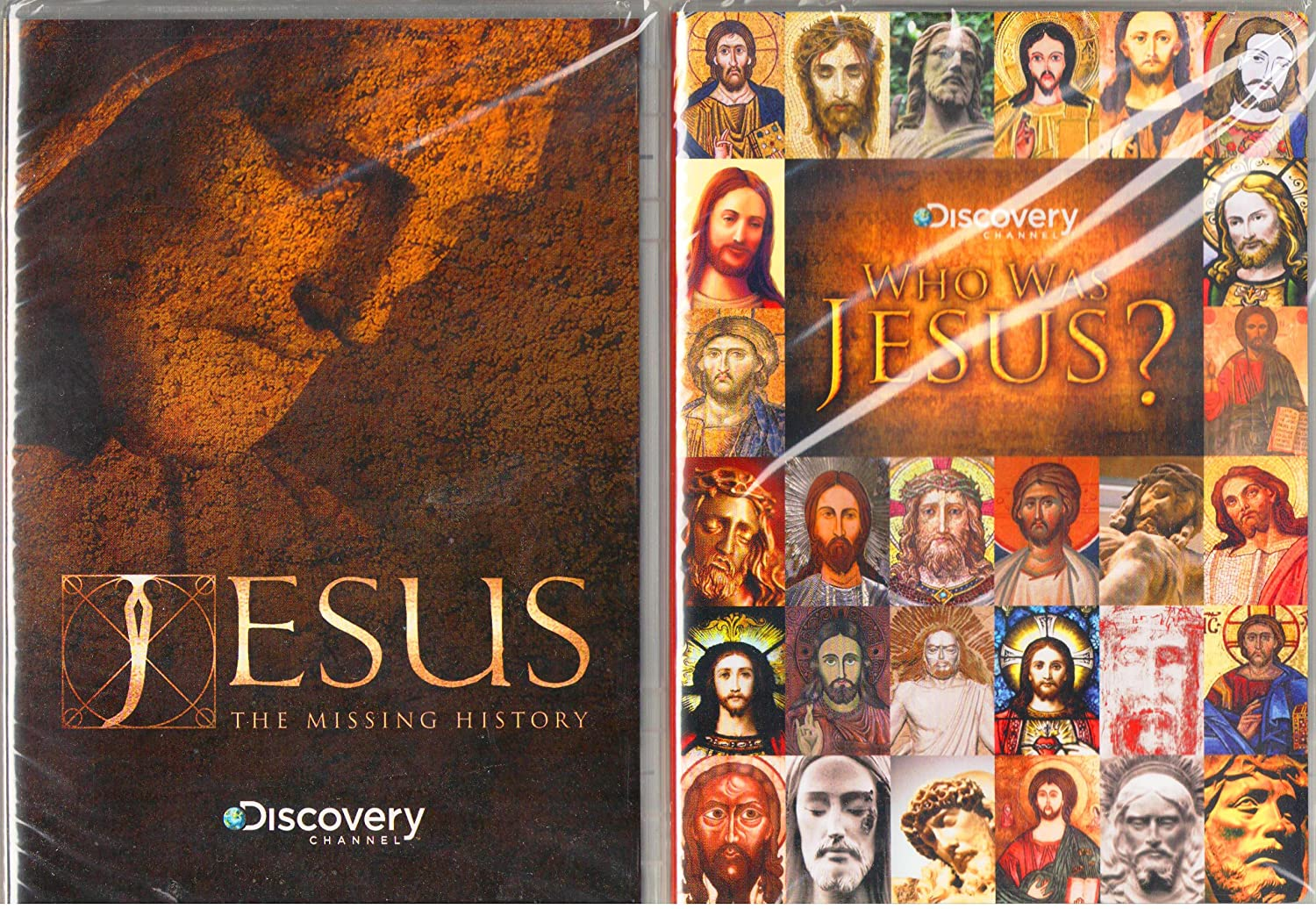 Discovery Channel : Jesus : The Missing History , Who Was Jesus - 2 Pack Gift Set
