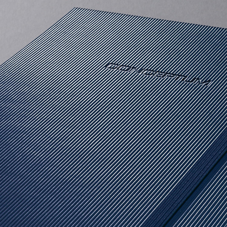copertina rigida blu scuro midnight blue 194 pagine a righe SIGEL CO657 Taccuino Conceptum a righe circa A5