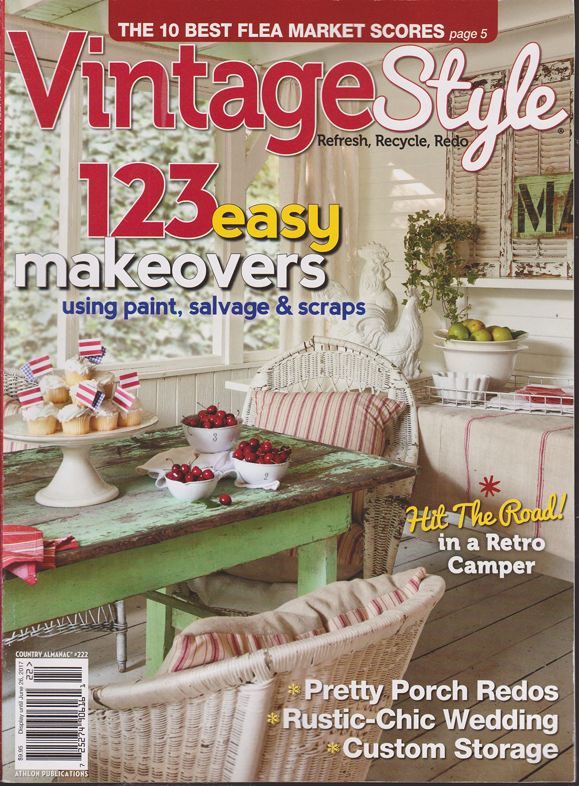 Incredible Country Almanac Magazine 222 Vintage Style Amazon Com Books Home Interior And Landscaping Oversignezvosmurscom