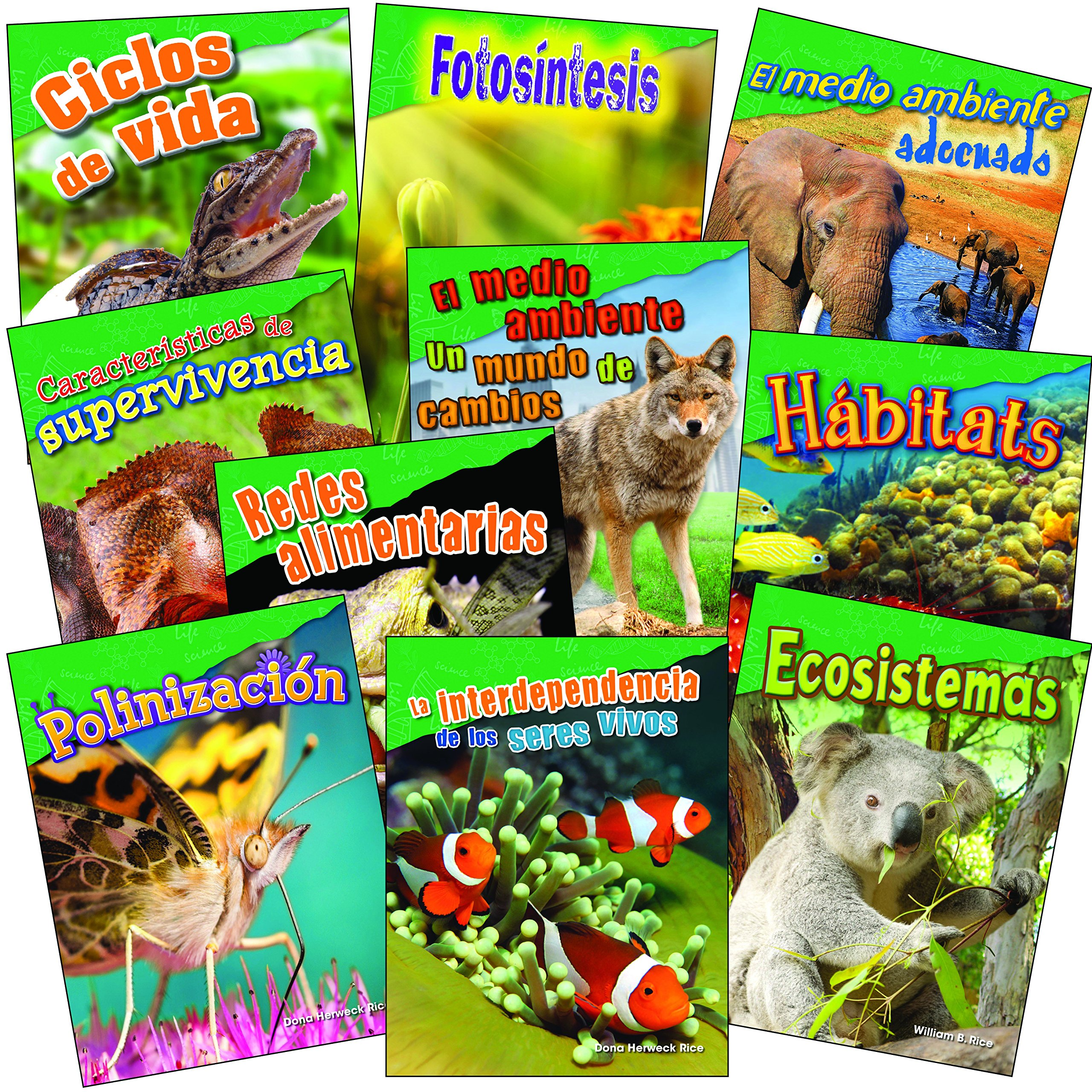 Let's Explore Life Science Grades 2-3 Spanish, 10-Book Set