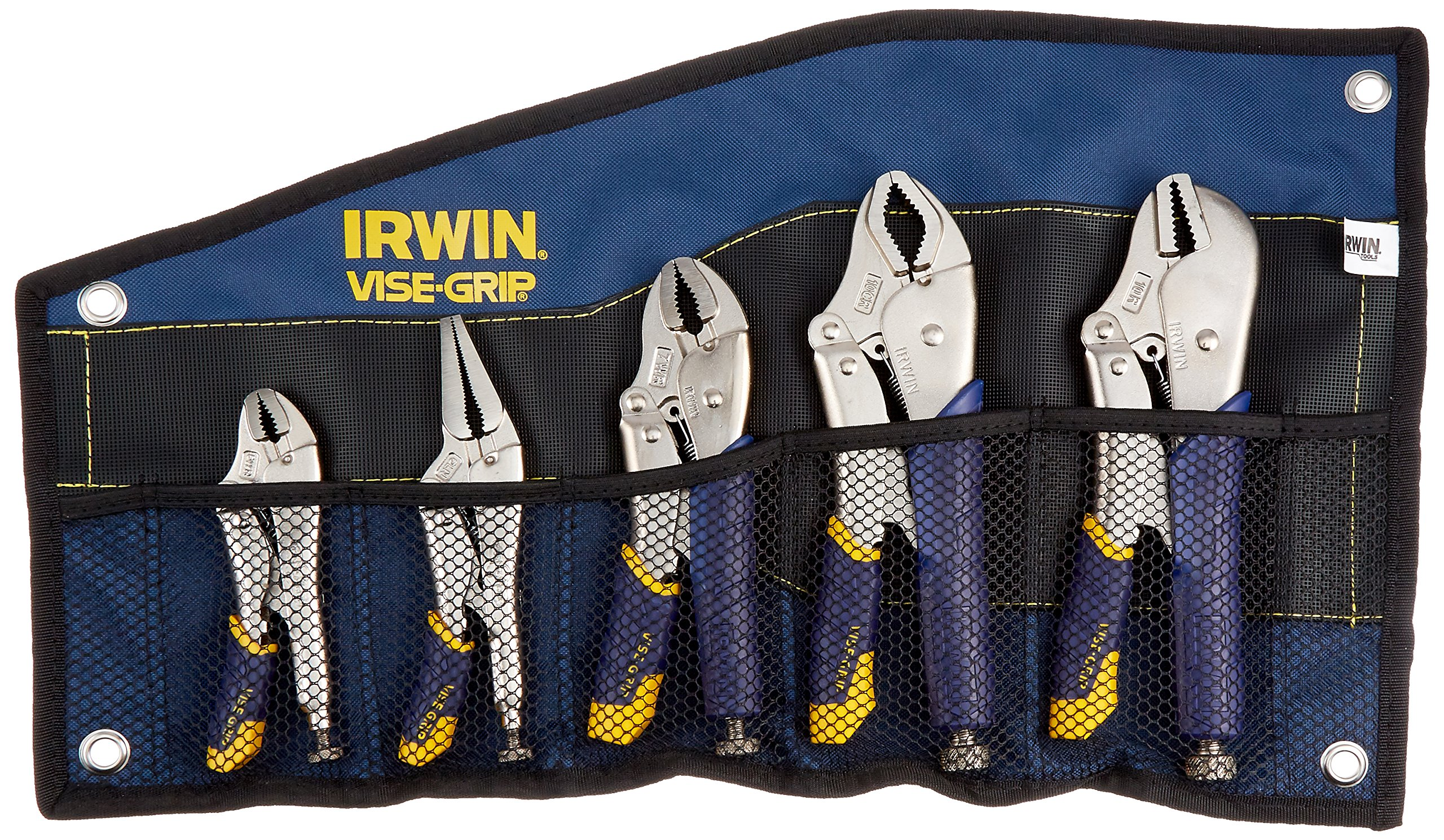 IRWIN Tools VISE-GRIP Locking Pliers Set, Fast Release, 5-Piece (538KBT) by IRWIN