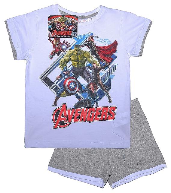 Oficial Marvel pijama de los Vengadores edad de Ultron | Iron Man Hulk Thor Capitán América