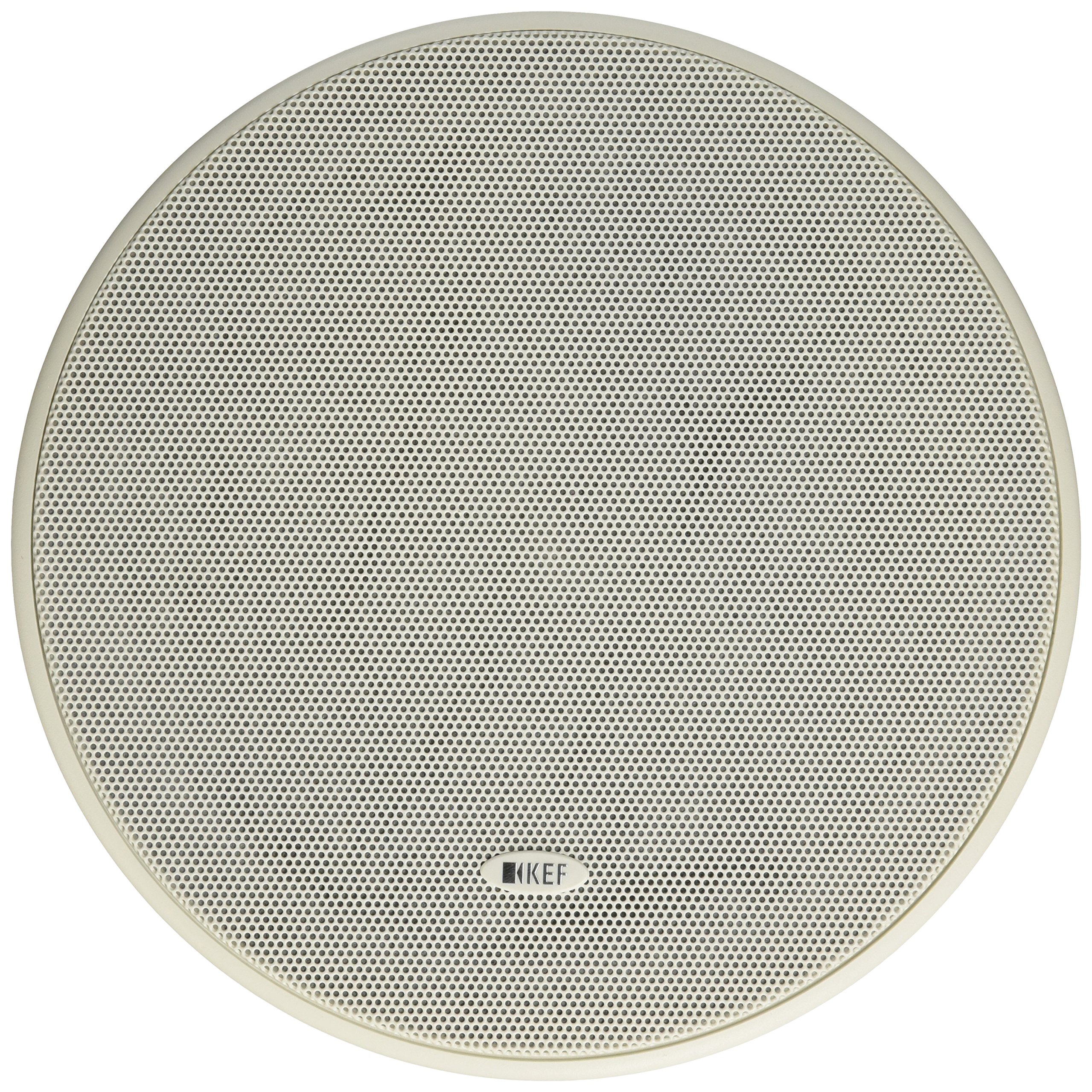 KEF CI160QR Round In-Ceiling Speaker Architectural Loudspeaker (Single),White