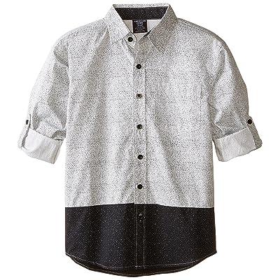 American Hawk Big Boys' Patterned Long Sleeve Sport Shirt