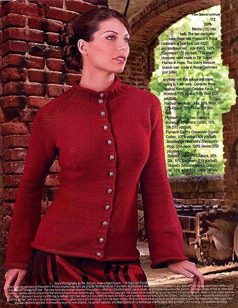 ea1f1b6e3 Amazon.com  The Noni Classic Knitting Pattern  1304 Top-Down ...