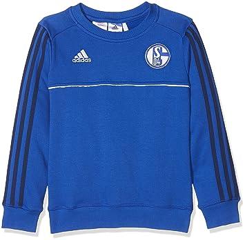 Adidas Fußball FC Schalke 04 S04 Sweatshirt Kinder blau dunkelblau Größe 176
