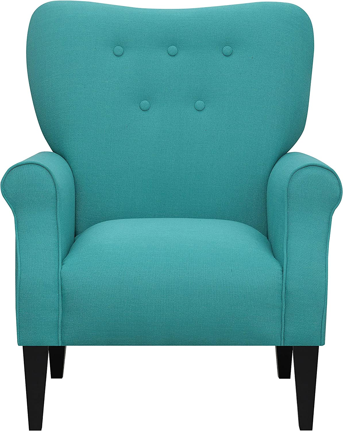 Emerald Home Furnishings Lydia Accent Chair, Mallard