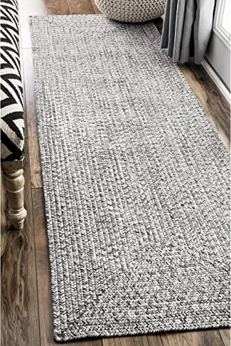 nuLOOM Lefebvre Braided Indoor/Outdoor Runner Rug
