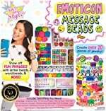 Just My Style Emoticon Message Beads by Horizon Group,DIY 20+ Jewelry