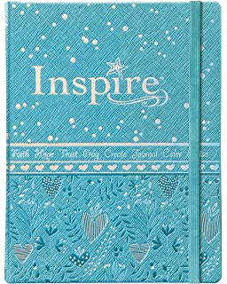 Inspire Bible For Girls NLT The Coloring Creative Journaling