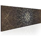 murando - Bilder 135x45 cm - Leinwandbilder - Fertig Aufgespannt - Vlies Leinwand - 1 Teilig - Wandbilder XXL - Kunstdrucke - Wandbild - Orient Mandala f-A-0491-b-b
