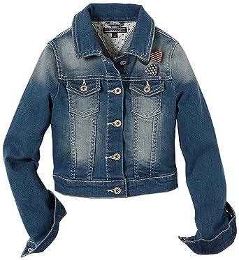 474b8d6993cfc Tommy Hilfiger - Denim - Veste en jean - Fille - Bleu (Beliva Wash ...