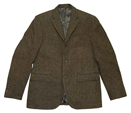 Polo Ralph Lauren RRL Mens Sport Coat Blazer Wool Brown Olive ...