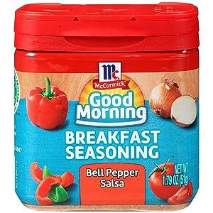 McCormick Good Morning Bell Pepper Salsa Breakfast Seasoning, 1.79 oz