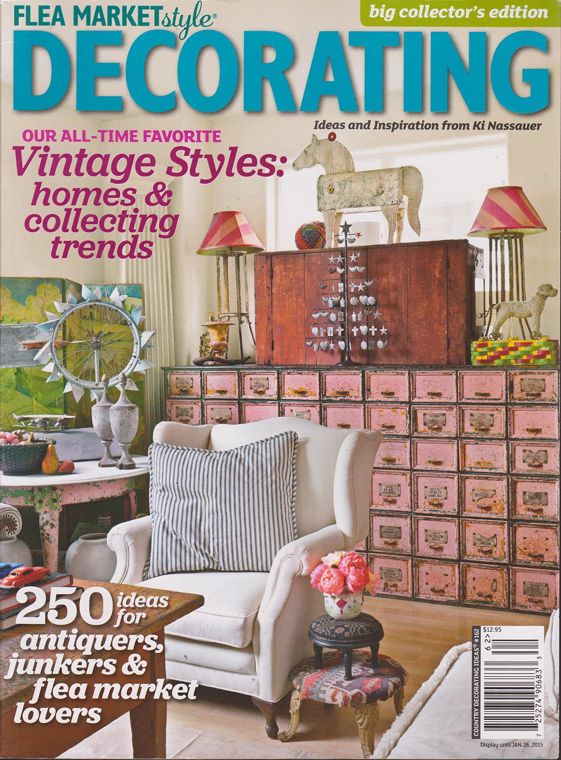 Flea Market Style Decorating Magazine Country Decorating ...