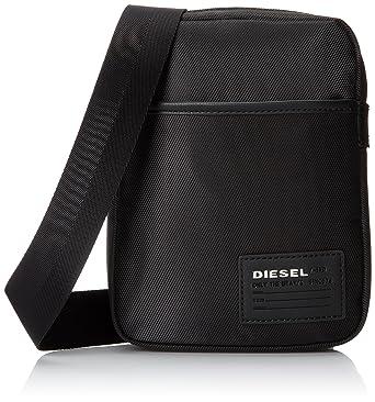 cee8acf68b Sac bandouliere Fuzzy Diesel - Noir: Amazon.fr: Vêtements et accessoires