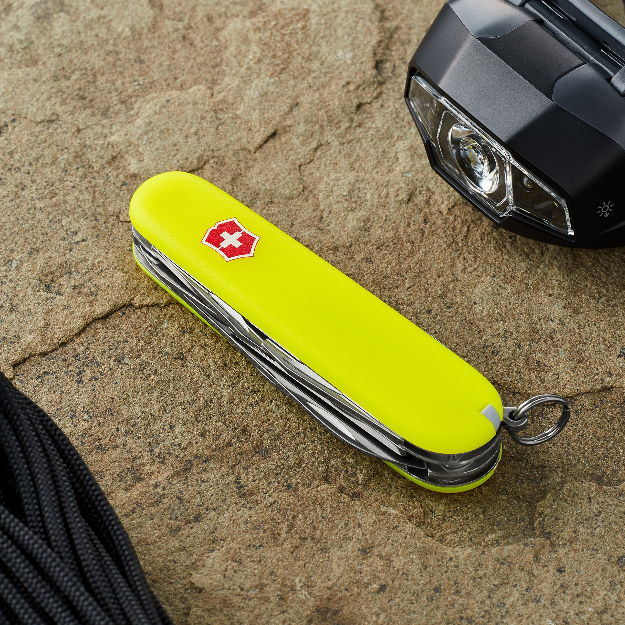 Victorinox Swiss Army Climber Knife, 91mm, Stayglow by Victorinox (Image #2)