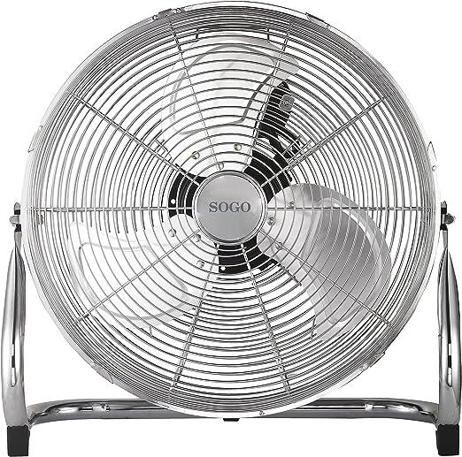 Sogo Ventilador Industrial Power fan de 110W, Diametro hélice de ...