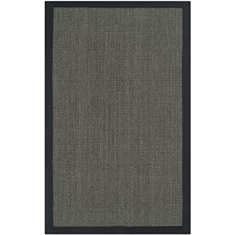 Safavieh Natural Fiber Collection NF441D Hand Woven Charcoal Sisal Area Rug 26quot