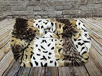 Snuggle saco de dormir/mascotas cama para gatos o perros por Lola de mascota Visón. Pasa el ...