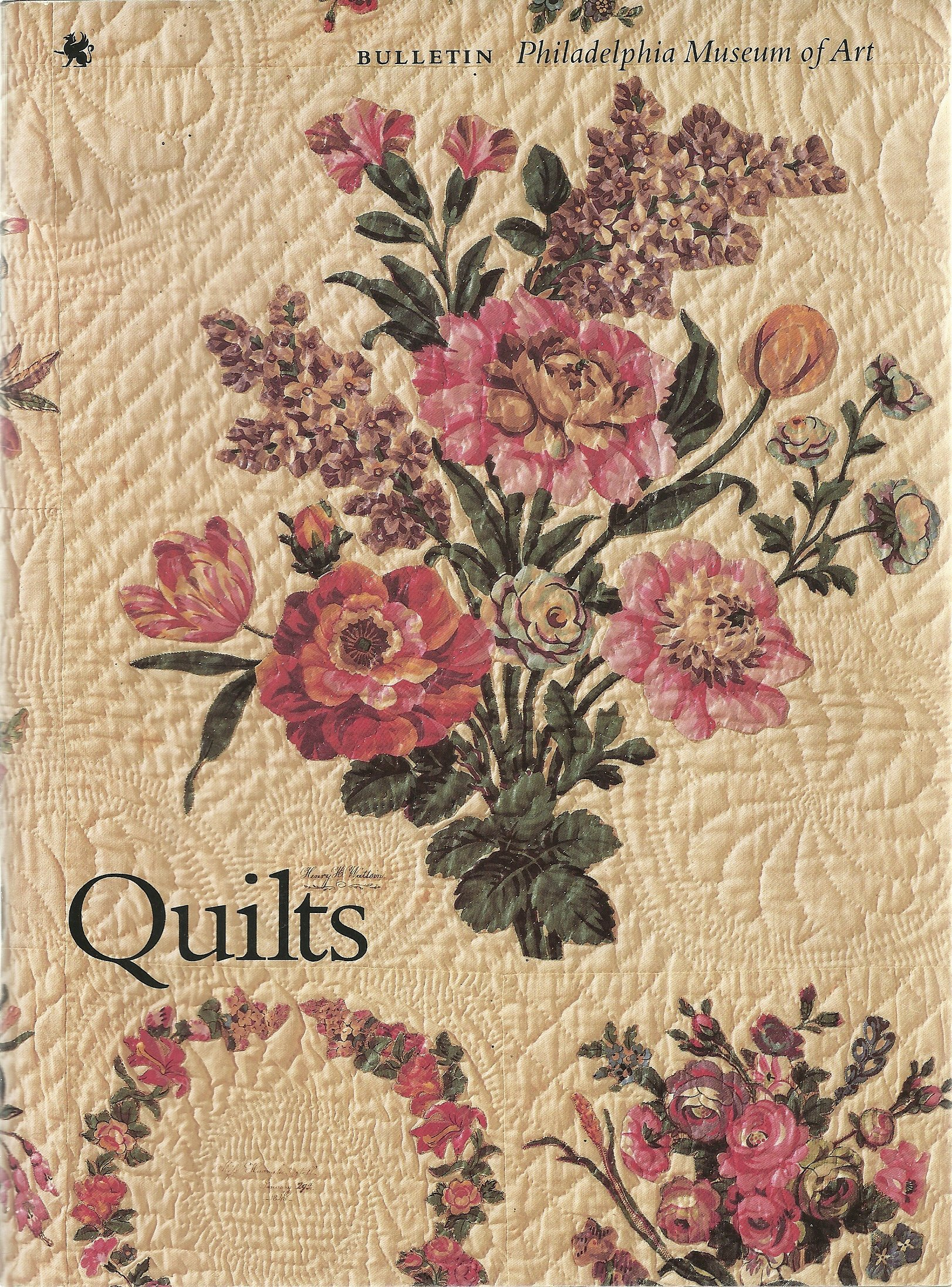 NINETEENTH-CENTURY APPLIQUE QUILTS, Philadelphia Museum of Art Bulletin Vol 85,