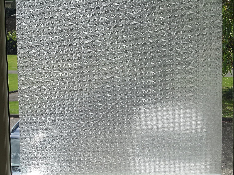 Reutilizable Decorativo Vinilo Esmerilado película para Ventana (1 ...