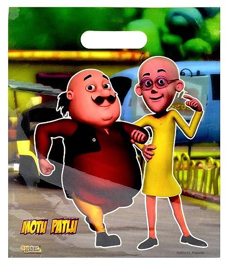 Buy Sticker Bazaar Motu Patlu Poly Party Bags Gift 50 Online At