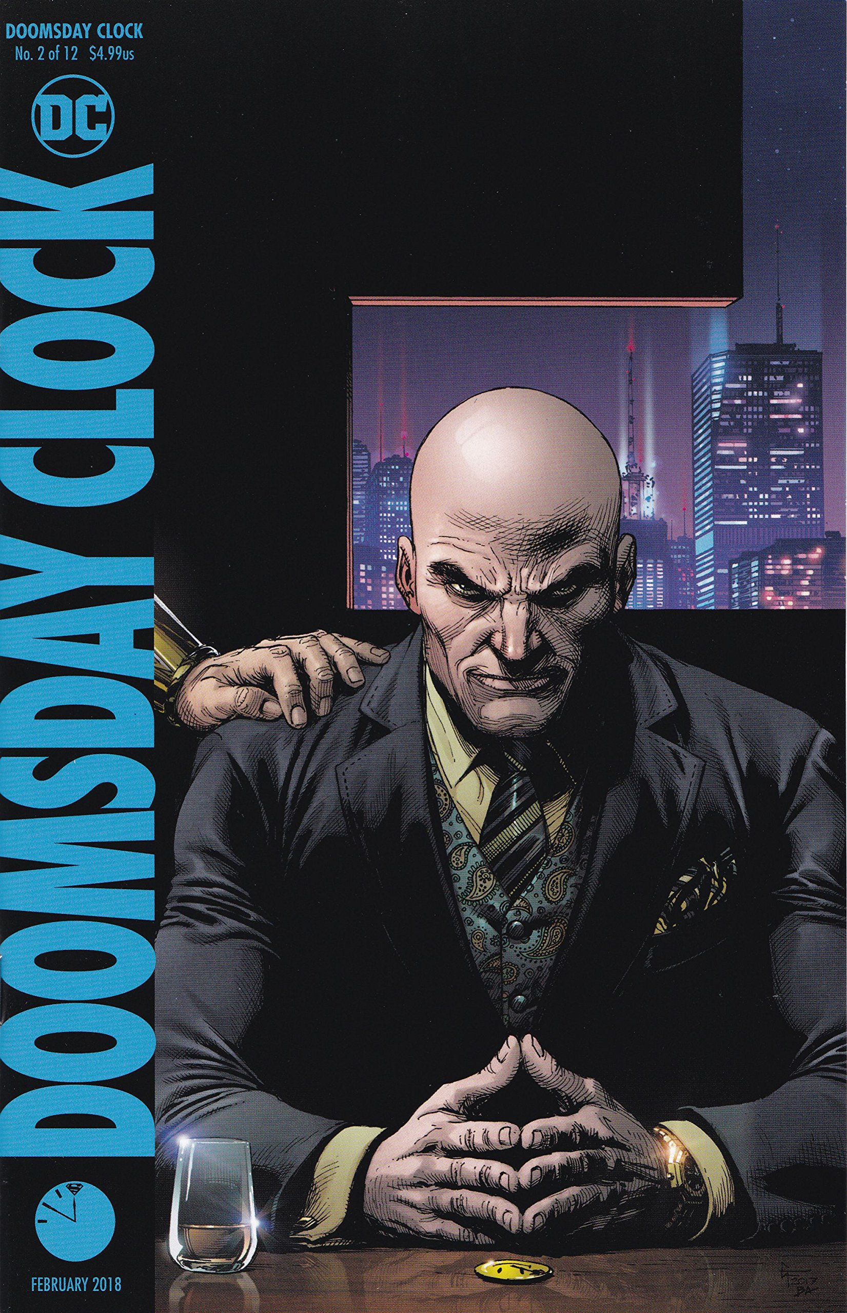 Doomsday Clock 2 Of 12 Frank Variant Release Date 12 27 17