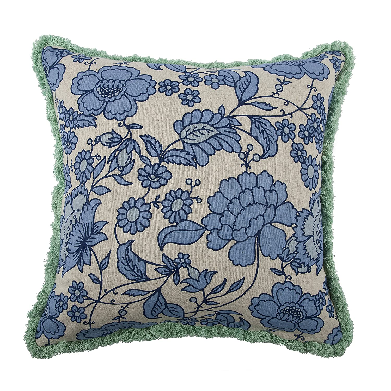 thomaspaul Seahorse Vyard Pillow Mint 18-Inch