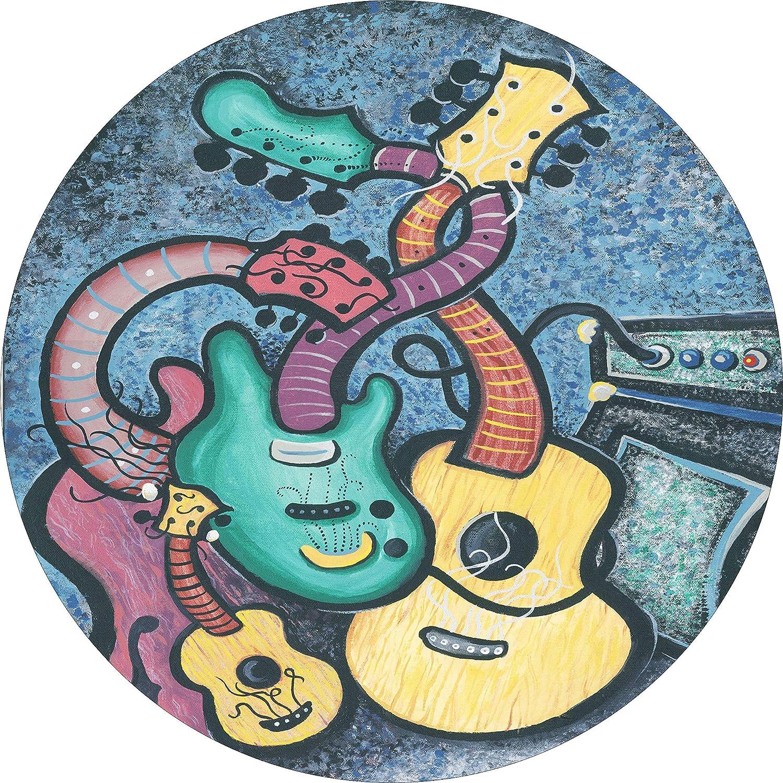 Amazon.com: TIRE COVER CENTRAL Hippie Multi Color Guitars ...