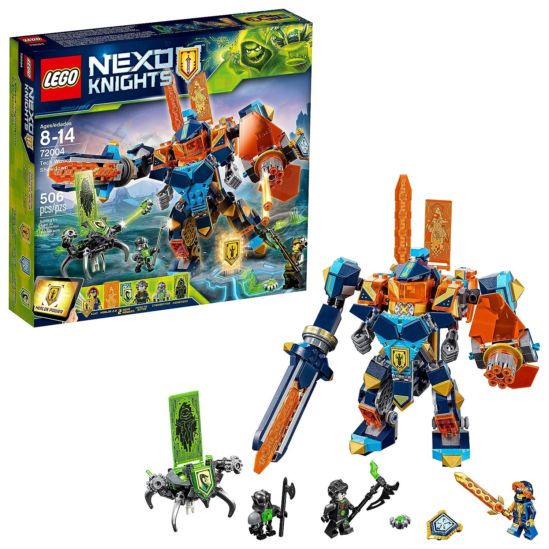 Amazon com: LEGO NEXO KNIGHTS Tech Wizard Showdown 72004