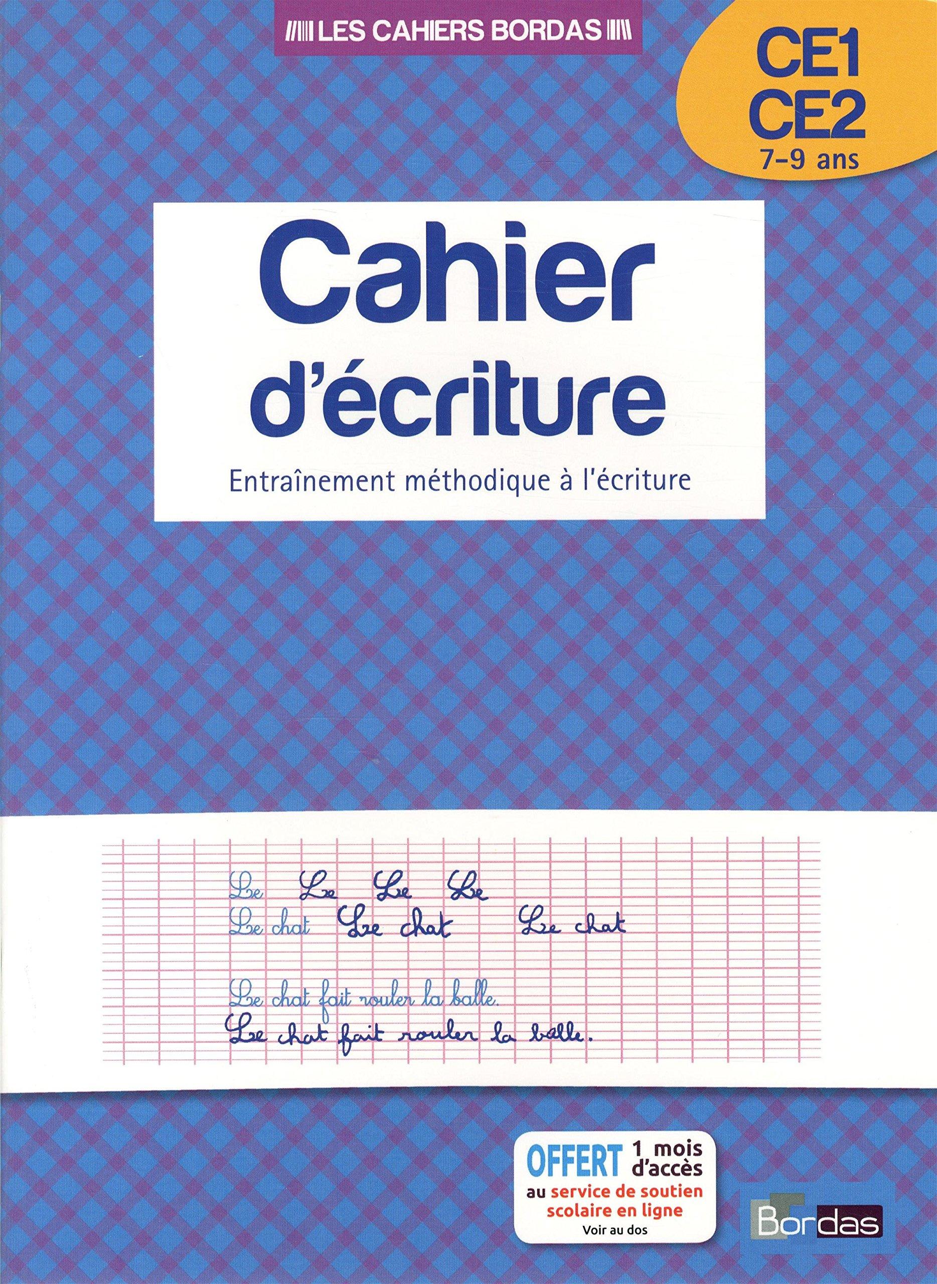 Top Amazon.fr - Cahier d'écriture CE1/CE2 - Collectif - Livres VB41