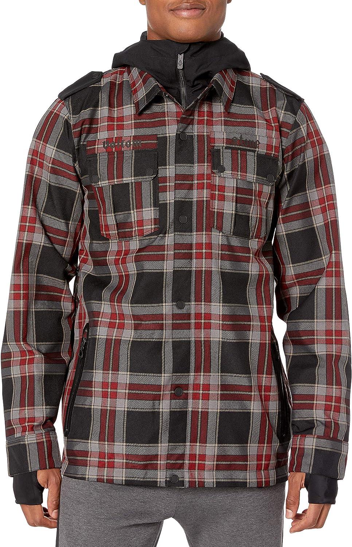 Volcom mens Creedle2stone Military Style Snow Jacket