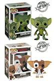 "Funko GREMLIN & GIZMO 3.75"" POP FIGURE 2PC SET from the movie ""The Gremlins"""