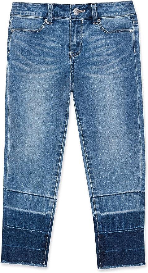 Calvin Klein Big Girls' Fashion Denim Jeans, Spectrum, 12