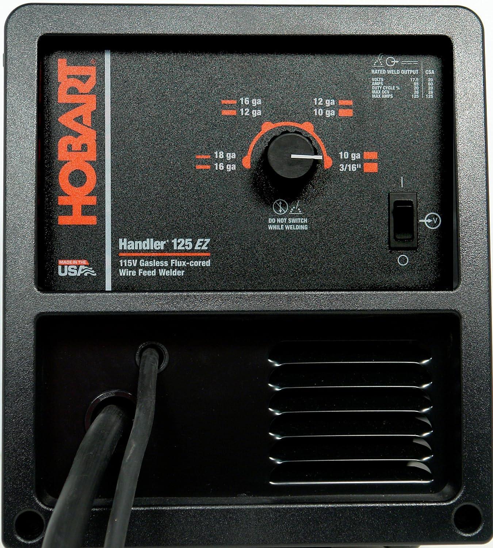 Hobart 500521 Handler 125 EZWire Feed Welder - Welding Wire ...