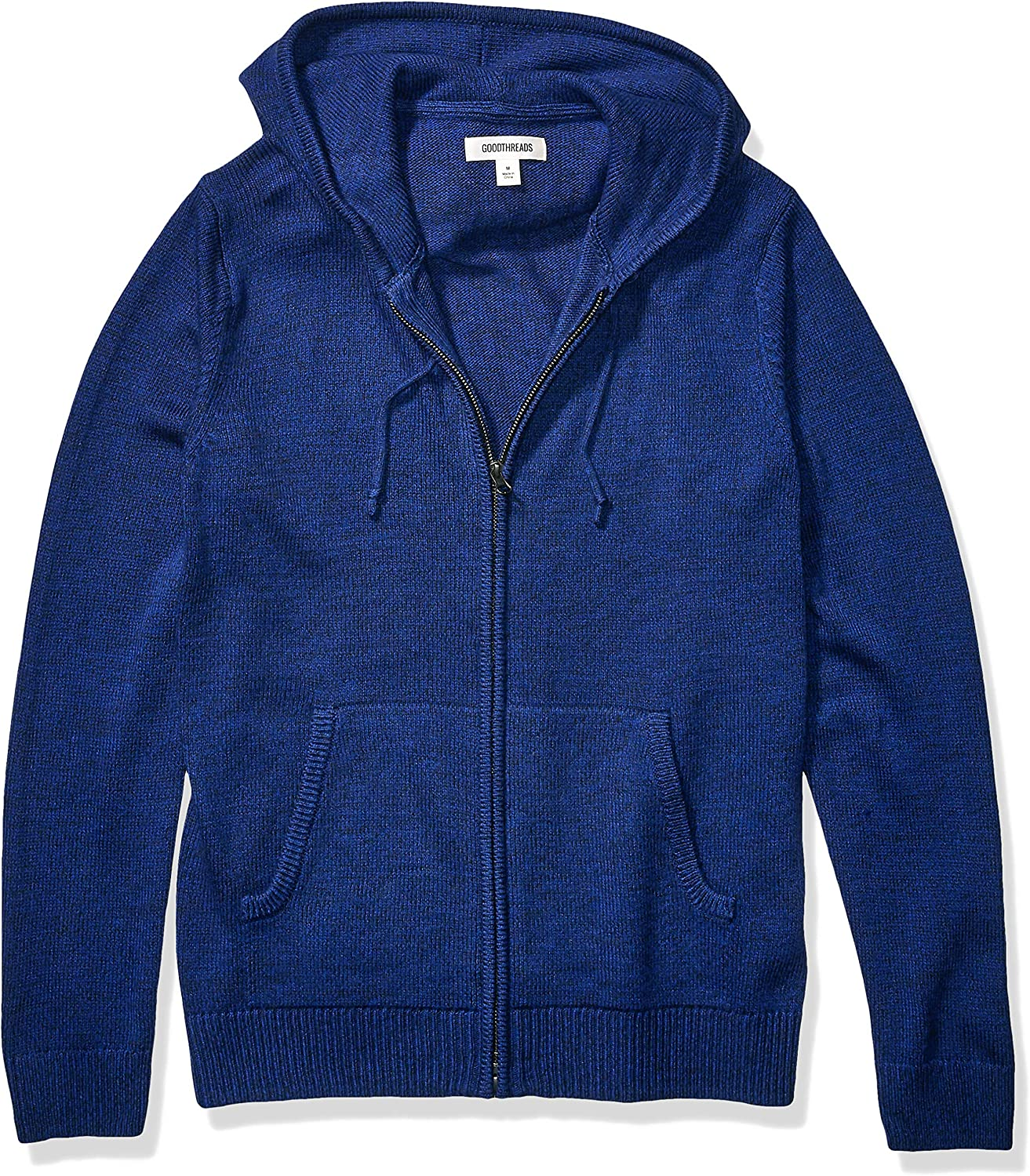 Goodthreads Supersoft Marled Fullzip Hoodie Sweater Hombre