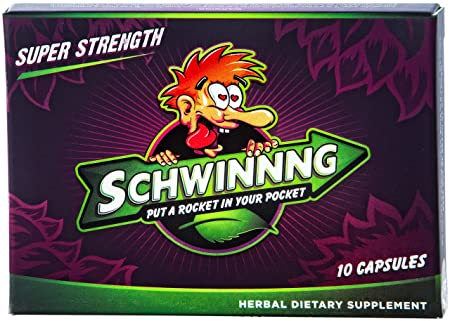 SCHWINNNG * SUPER STRENGTH – NEW ALL-NATURAL MALE ENHANCEMENT PILL 40 Capsules Buy 3 packs of 10 capsules Get the 4th for 10