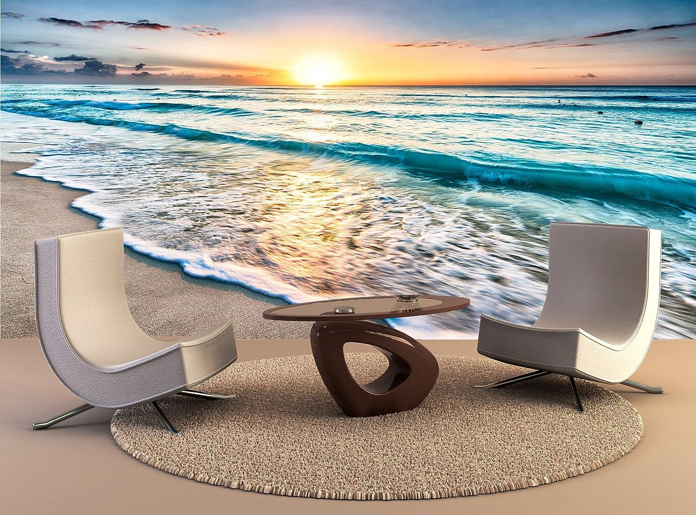 3D Mural Photo Sunrise over the ocean Wallpaper Decor Large Paper Wall Decor Art