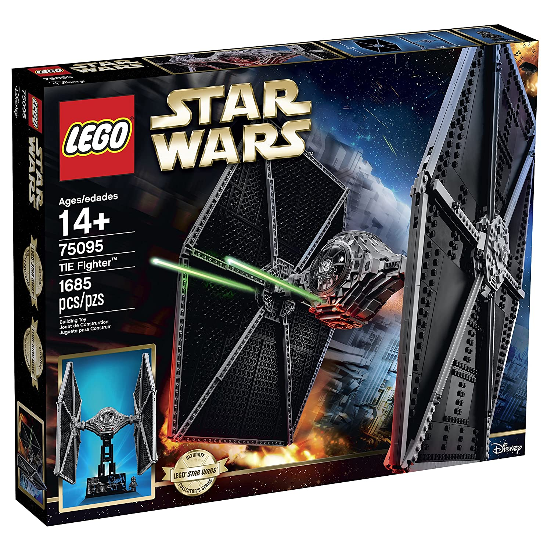 lego star wars 75095 tie fighter amazonfr jeux et jouets