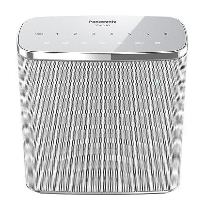 Panasonic SC-ALL05EG-W Wireless (wasserfest, Multiroom, WiFi, Bluetooth,  Musik-Streaming) weiß
