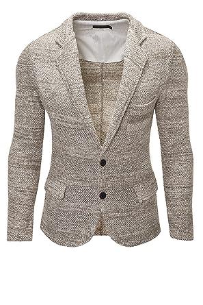 Antony Morato Herren Strick Sakko Anzugjacke Sweat Blazer Cardigan (48,  Colonial) 4fffb0c906